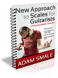 Adam's book, A New Approach to Scales for Guitarists.